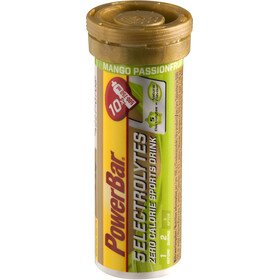 PowerBar 14 Electrolytes Zero Calorie Sports Drink Tabs 10 Pieces, Mango-Passion Fruit